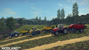 Pack 4 BigBalers 1 axle v 1.0, 4 photo
