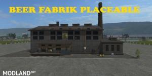 Placeable Beer Fabrik v 1.1