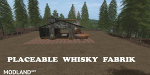Placeable whiskey factory v 1.0, 1 photo