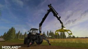 PONSSE Rear Mounted Crane + Lifting Hook Crane v 1.4, 8 photo
