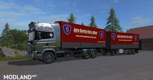 Rotary platform Bale trailer v 1.0, 3 photo