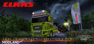 Scania 700 EVO Skin Claas v 1.0, 2 photo
