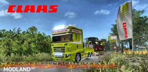 Scania 700 EVO Skin Claas v 1.0, 3 photo