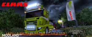 Scania 700 EVO Skin Claas v 1.0, 4 photo