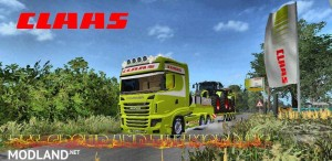Scania 700 EVO Skin Claas v 1.0, 5 photo
