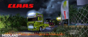 Scania 700 EVO Skin Claas v 1.0, 1 photo