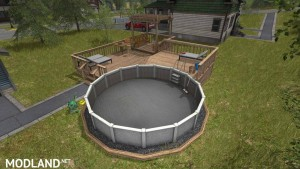 Small Pool Deck v 1.0, 1 photo