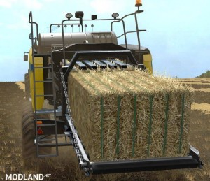 Square Bales Colour Pack (straw edition) v 1.0, 1 photo