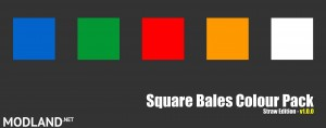 Square Bales Colour Pack (straw edition) v 1.0, 3 photo