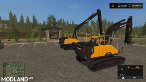 Volvo EC300E Pack v 1.0, 7 photo