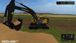 Volvo excavator EC300E v 1.0, 5 photo
