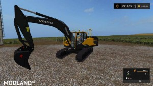 Volvo excavator EC300E v 1.0, 1 photo