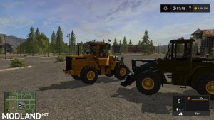 Volvo L90C Military Green and Yellow v 1.0, 4 photo