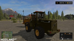 Volvo L90C Military Green and Yellow v 1.0, 5 photo