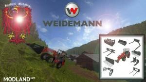 Weidemann 1770 GX50 (front loader) v 1.1