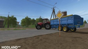 West 12t Grain Trailer v 1.0, 2 photo