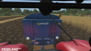 West 12t Grain Trailer v 1.0, 3 photo