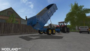 West 12t Grain Trailer v 1.0, 1 photo