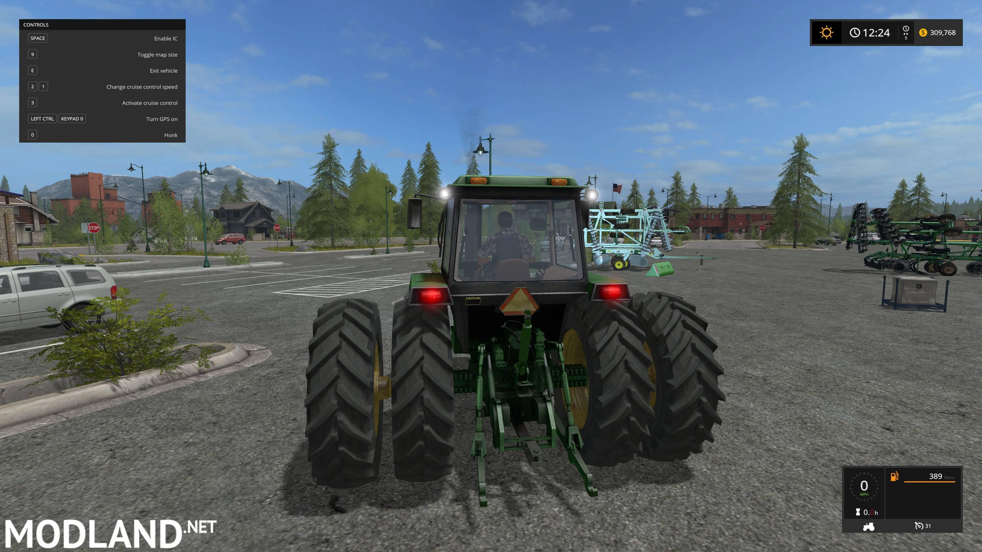 John Deere 4755/4850/4955 mod Farming Simulator 17