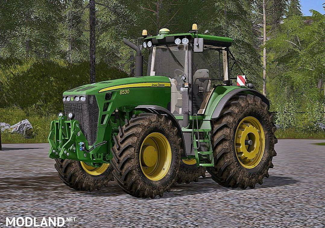 john deere 8530 mod farming simulator 17. Black Bedroom Furniture Sets. Home Design Ideas