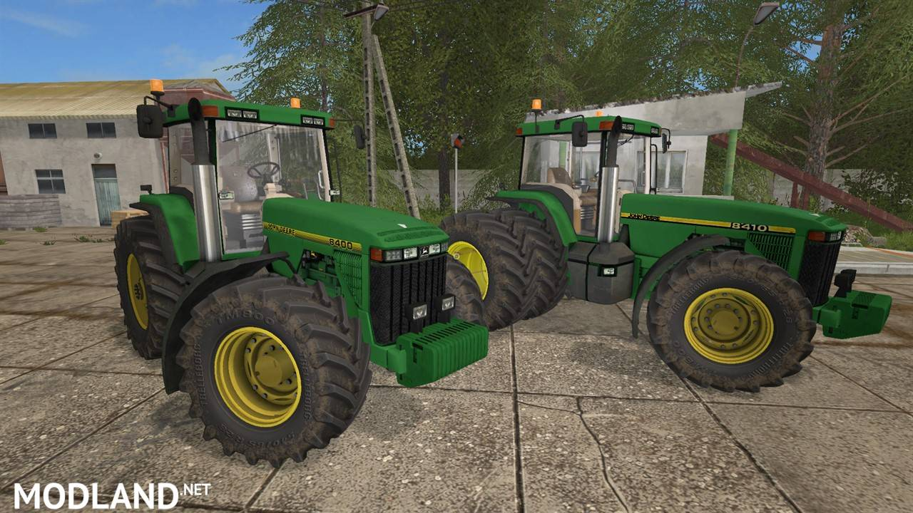John Deere 8400 8410 V1 0 Mod Farming Simulator 17