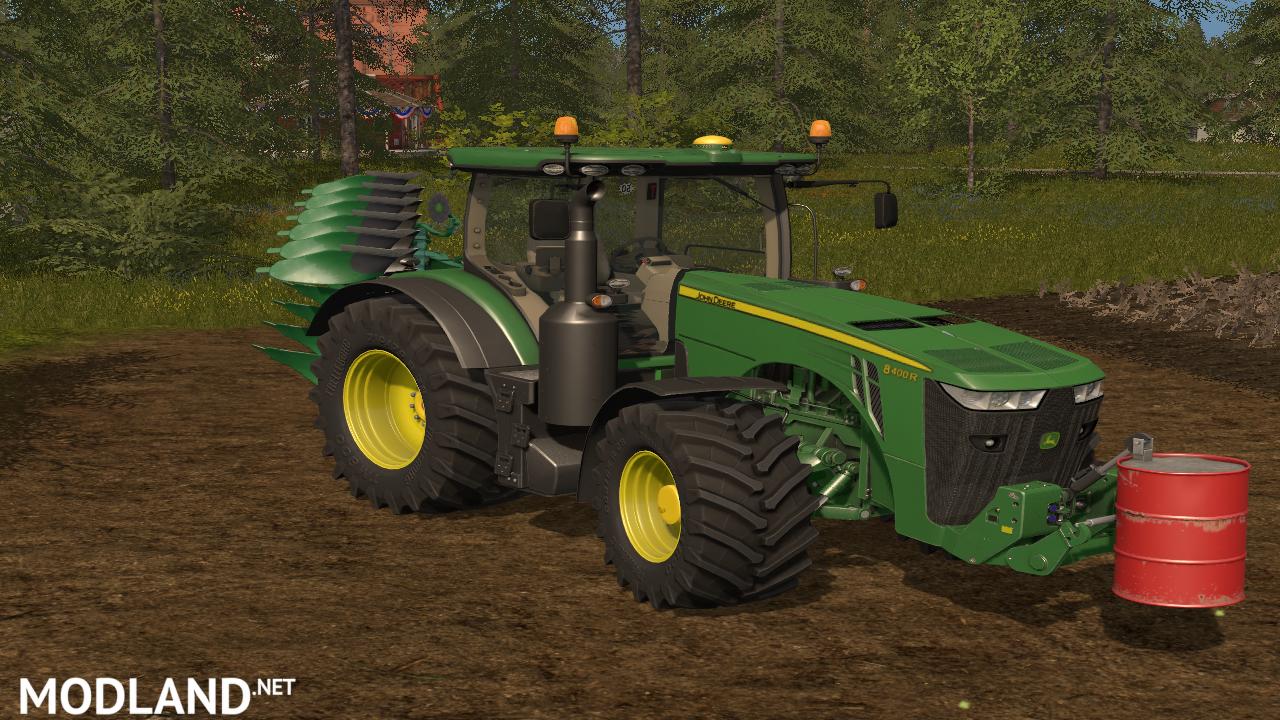 john deere 8r v 1 0 mod farming simulator 17. Black Bedroom Furniture Sets. Home Design Ideas