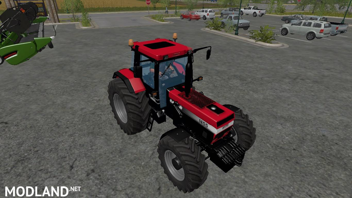 Case Ih 1455 V 1 0 Red 145 Hp Mod Farming Simulator 17