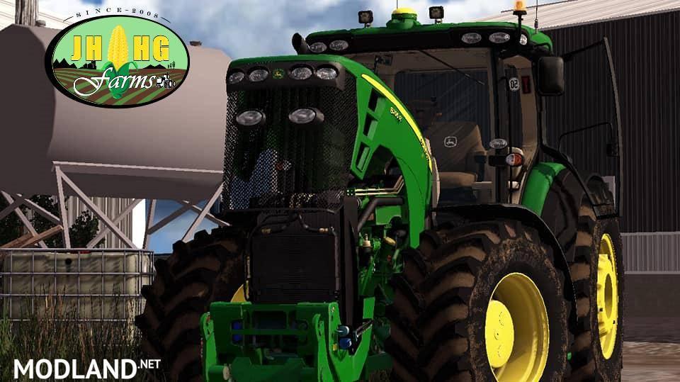 John Deere 8R EU 2010 FINAL v 2 1 mod Farming Simulator 17