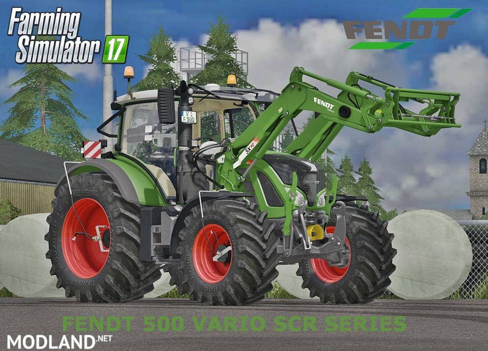 Fendt 500 Vario SCR v2 Full Pack