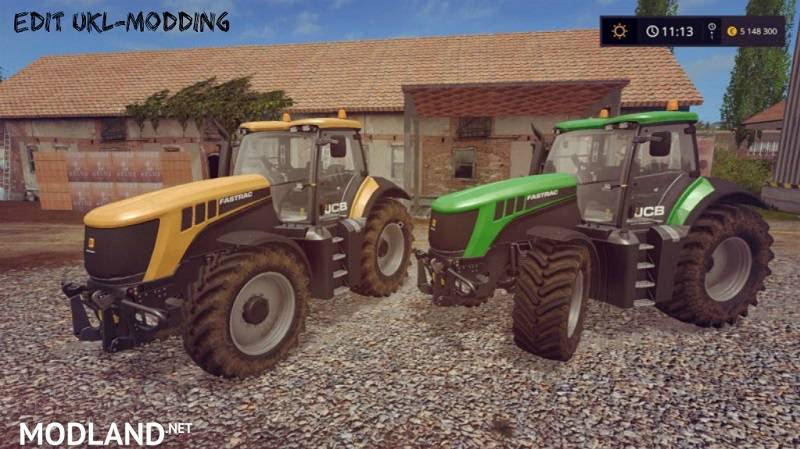 JCB FASTRAC 8000 v 1.2 EDIT  UKL-MODDING