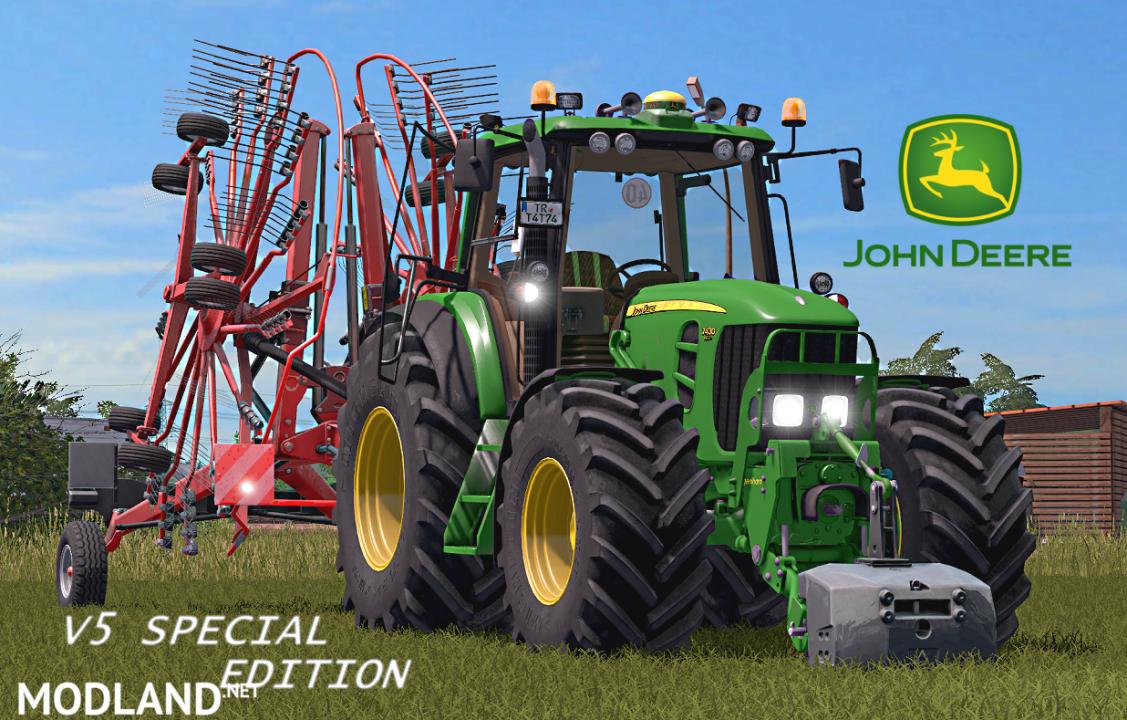 John Deere 7430/7530 v 5.0 Special Full