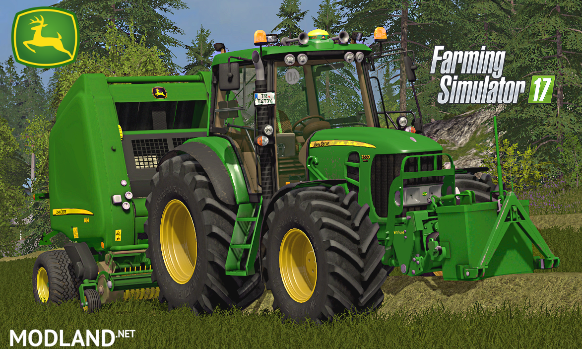 John Deere 7430/7530 V4 Full Pack
