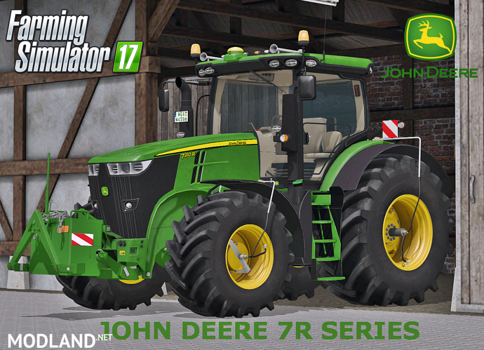 John Deere 7R Series Full Pack