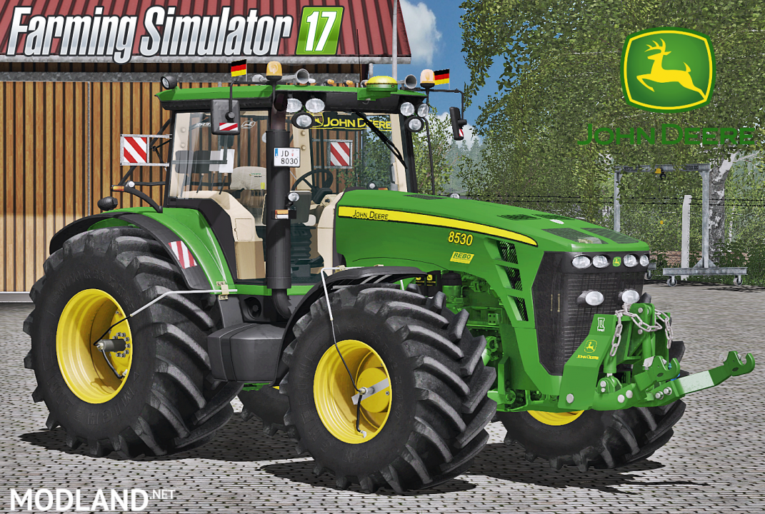 John Deere 8030 Series Official Final