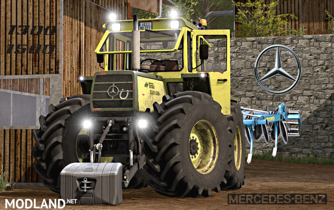 MB Trac 1300/1500 V2.0 Full Pack