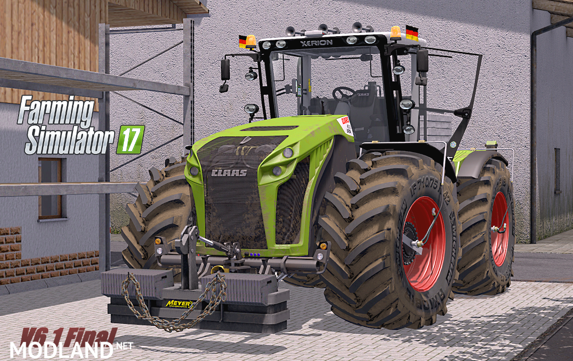 Claas Xerion 4000–5000 V6.1 Final