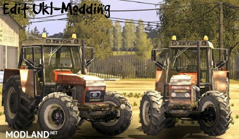 ZETOR CRYSTAL 16145 V 1.1 EDIT UKL-MODDING