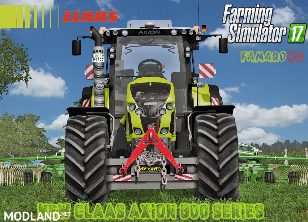 Claas Axion 800 Series Full Pack