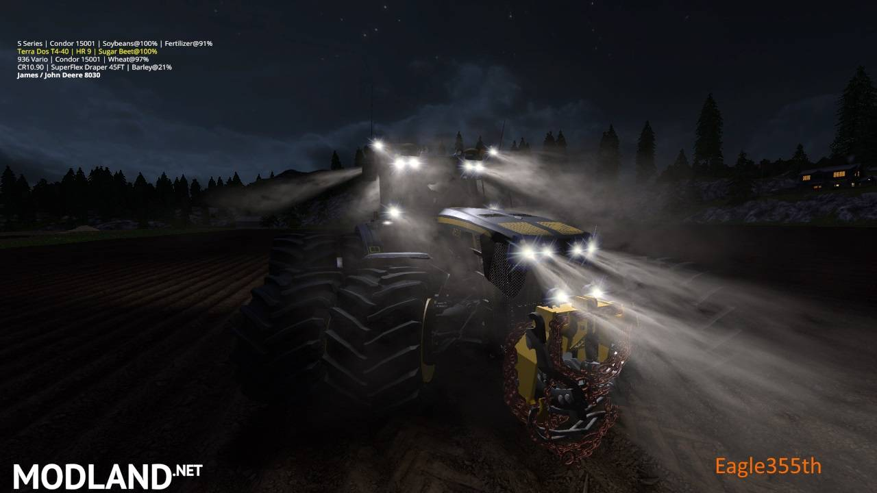FS17 JOHN DEERE 8530 BLACK SHADOW
