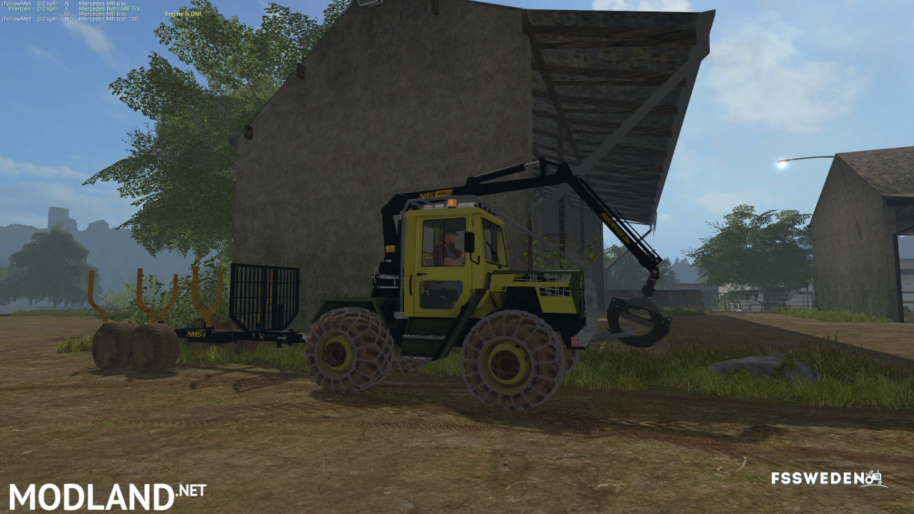 Forestry MB Trac 800 v 1.0 BETA