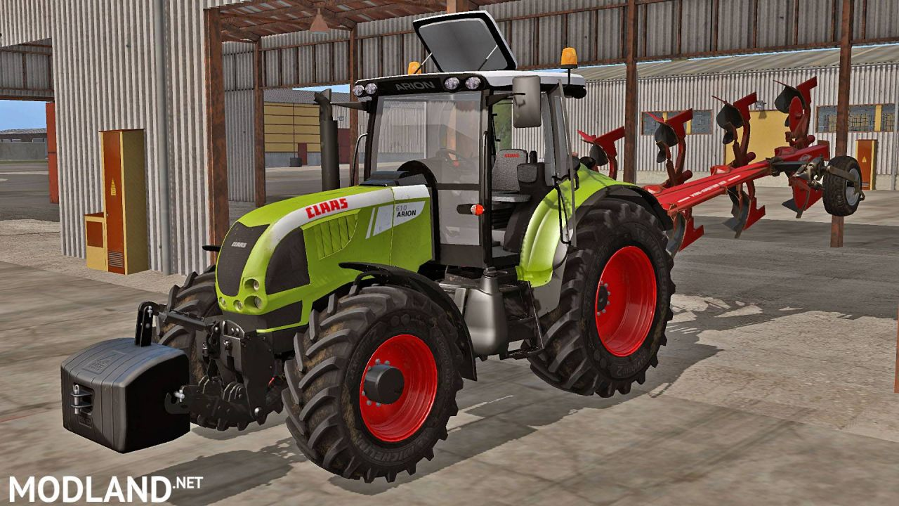 Claas Arion 600 (610, 620, 630)