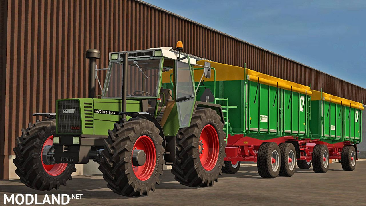 Fendt Favorit 600 LSA (611, 612, 615)