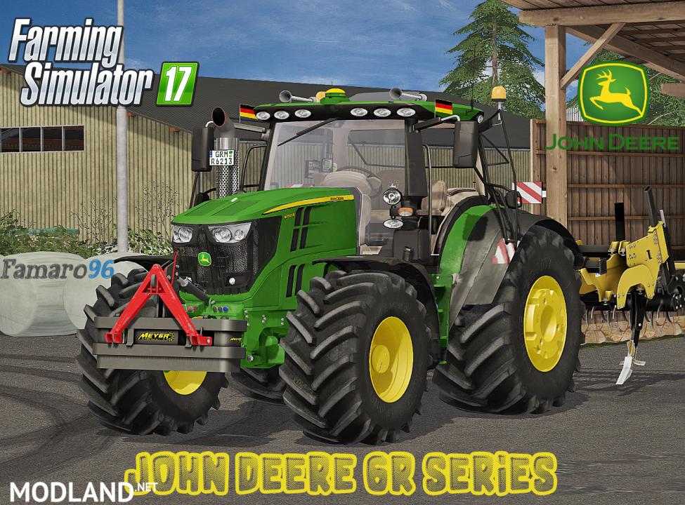John Deere 6R Series New Pack