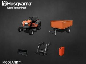 Husqvarna Rasentraktor Pack v 1.0, 1 photo