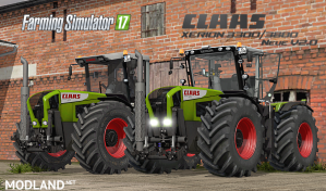 Claas Xerion 3300/3800 V2.0 Final Pack, 2 photo