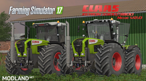 Claas Xerion 3300/3800 V2.0 Final Pack