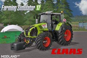 Claas Axion 800 Series Full Pack, 1 photo