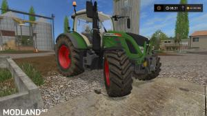 Fendt 700 with Mitas Pneumatic wheels, 4 photo