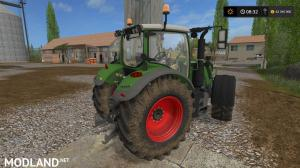 Fendt 700 with Mitas Pneumatic wheels, 1 photo