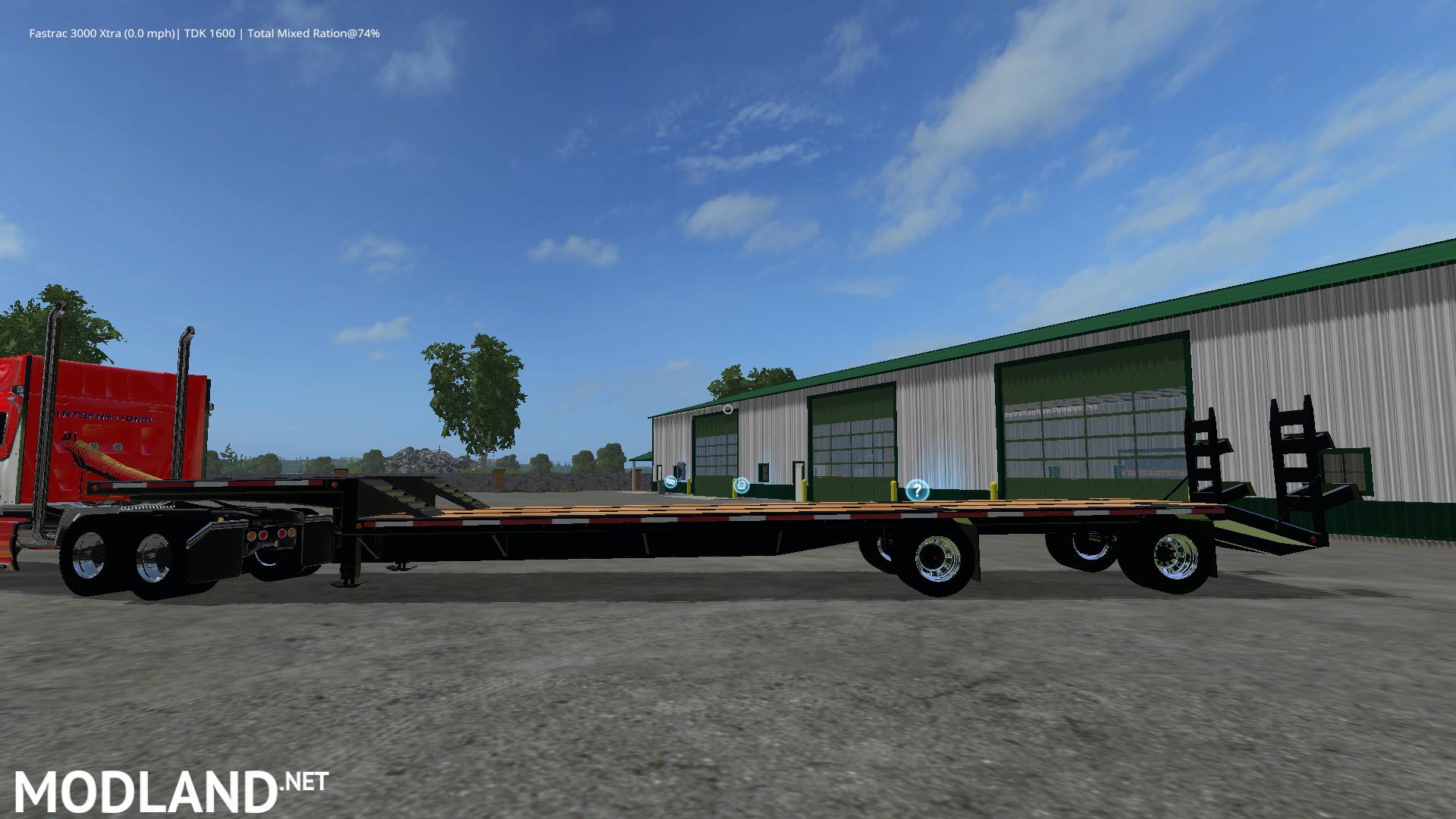 Big Valley Ford >> Drop Deck Trailer mod Farming Simulator 17